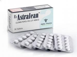 Clenbuterolo HCL Astralean 40mcg